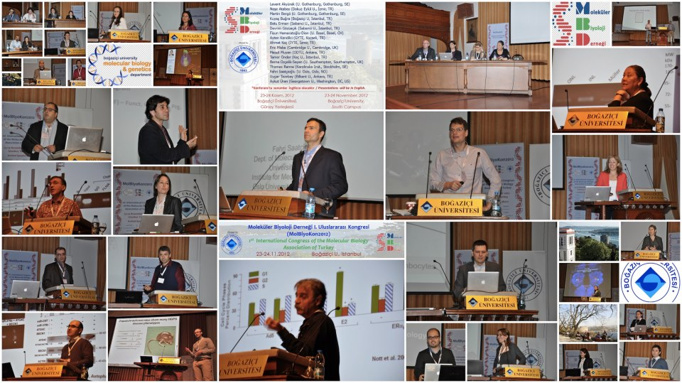 The First International Congress of the Molecular Biology Association of Turkey
